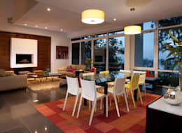 Casa Olinala - Local 10 Arquitectura: Comedores de estilo moderno por Local 10 Arquitectura