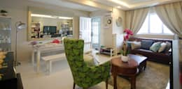 Living Hall: classic Living room by Designer House