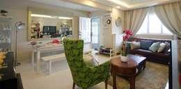 Projekty,  Salon zaprojektowane przez Designer House