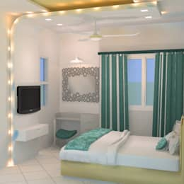 create your unique world: modern Bedroom by Alag Interior