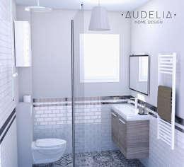 visuel 3D:  de style  par AUDELIA HOME DESIGN