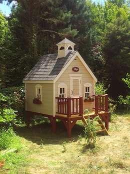 Minik Ev – Cottage loft: modern tarz Çocuk Odası