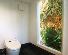 Projekty,  Łazienka zaprojektowane przez e.co room