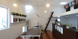 modern Study/office by e.co room