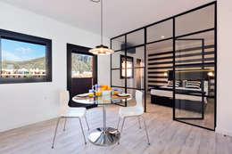 Ruang Makan by ISLABAU constructora