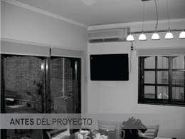 Comedores de estilo minimalista por D'ODORICO OFICINA DE ARQUITECTURA