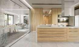 modern Kitchen by MG Projekt Projekty Domów