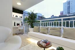 Terrazas de estilo  por Chris Silveira & Arquitetos Associados