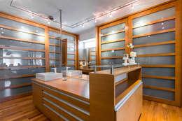 Apartamento 10A Grand Europa - NMD NOMADAS: Baños de estilo moderno por NMD NOMADAS