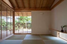 風雅 簾戸3: 井上スダレ株式会社が手掛けた多目的室です。