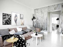 Salas de estilo ecléctico por Pixers