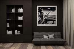 FOREST PROJECT: Рабочие кабинеты в . Автор – Polka architecture studio