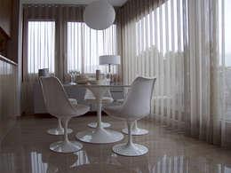 Projekty,  Jadalnia zaprojektowane przez MD Creative Lab - Architettura & Design