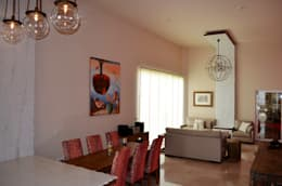 asian Living room by Erika Winters Design