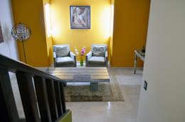 غرفة المعيشة تنفيذ Erika Winters Design