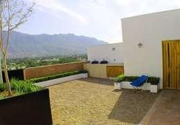 Terrasse de style  par Lozano Arquitectos