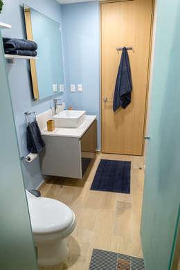 eclectic Bathroom by Erika Winters® Design