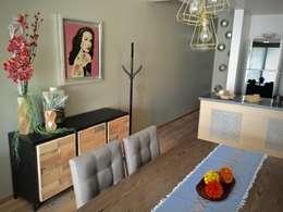 : Comedores de estilo ecléctico por Erika Winters® Design