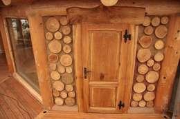 Altana w Nakle nad Notecią: styl , w kategorii Ściany i podłogi zaprojektowany przez Organica Design & Build