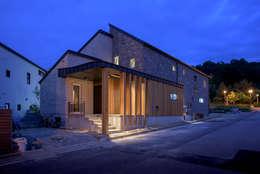 rustic Houses by 건축사사무소 재귀당