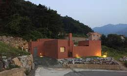 Casas de estilo minimalista por small-rooms association