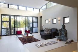 Let The Light In: modern Living room by Spiro Couyadis Architects