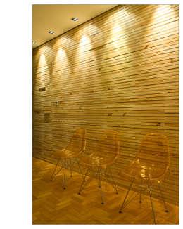 Salas / recibidores de estilo moderno por Andréa Buratto Arquitetura & Decoração