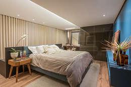 Dormitorios de estilo moderno por Andréa Buratto Arquitetura & Decoração