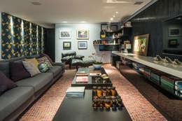 Livings de estilo moderno por Andréa Buratto Arquitetura & Decoração