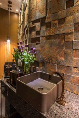 Baños de estilo moderno por Andréa Buratto Arquitetura & Decoração