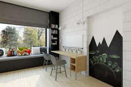 dom pasywny w Nałęczowie: styl , w kategorii Pokój dziecięcy zaprojektowany przez INSIDEarch