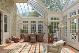 Grand Conservatory on a Substantial Channel Islands Property: classic Conservatory by Vale Garden Houses