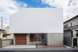 正面ファサード|梅ノ木の家: 有限会社ミサオケンチクラボが手掛けた家です。