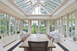 Projekty,  Ogród zimowy zaprojektowane przez Vale Garden Houses