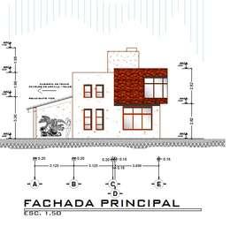 Casas de estilo moderno por Arquitecto Eduardo Carrasquero