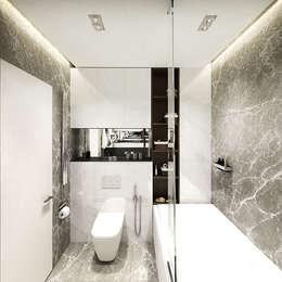 Projekty,  Łazienka zaprojektowane przez insdesign II