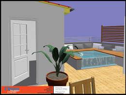Terrazas de estilo  por C'Design