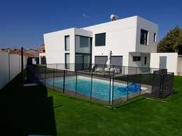modern Zwembad door MODULAR HOME