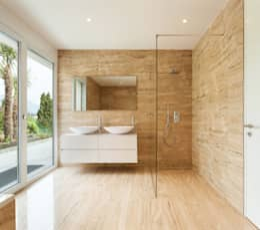 modern Bathroom by nassboards