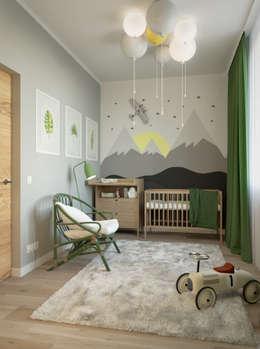 Детские комнаты в . Автор – homify