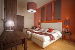 غرفة نوم تنفيذ Pasquale De Angelis