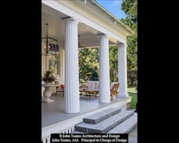 Porch Columns:  Patios & Decks by John Toates Architecture and Design