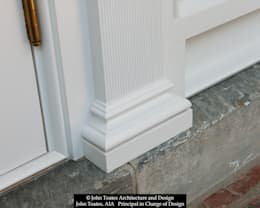 Pilaster Detail: classic Houses by John Toates Architecture and Design