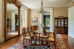 Formal Dining Room: classic Dining room by John Toates Architecture and Design