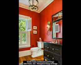 Powder Room: classic Bathroom by John Toates Architecture and Design
