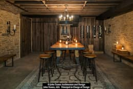 Wine Cellar: classic Wine cellar by John Toates Architecture and Design