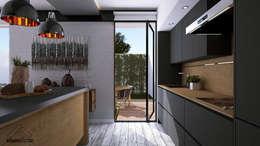 modern Kitchen by FERAARQUITECTOS