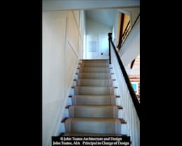 Stair:  Corridor & hallway by John Toates Architecture and Design