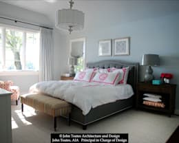 Master Bedroom: classic Bedroom by John Toates Architecture and Design