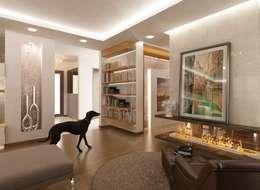 Salas de estilo moderno por VERO CONCEPT MİMARLIK